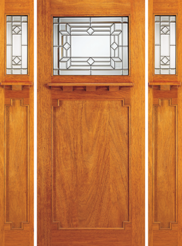 Arts and crafts doors lusso doors for Arts and crafts front doors